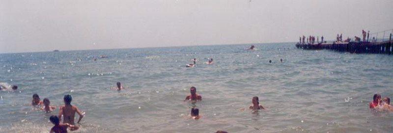 Schwimmen und Baden im Schwarzen Meer