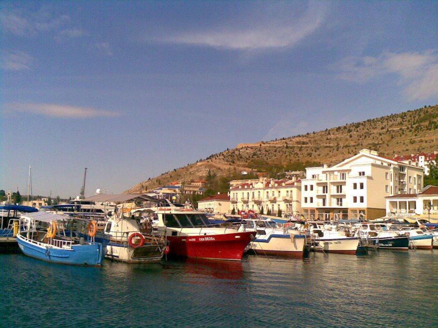 Hafen von Balaklava am Schwarzes Meer